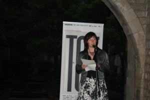 Галина Крук на Barcelona Poesia 2010