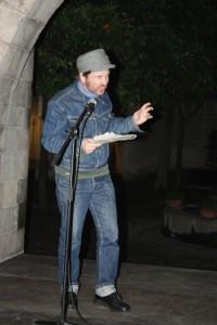 Андрій Антоновський на Barcelona Poesia 2010