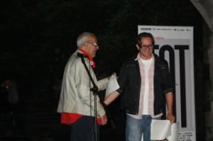 Карлес Ак Мор та Юрій Завадський на Barcelona Poesia 2010