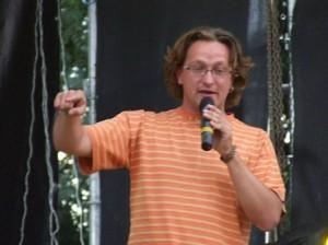 """Yury Zavadsky at Unizh Festival/Юрій Завадський на фестивалі """"Уніж"""""""